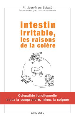 Couverture livre Pr Sabate intestin irritable colopathie