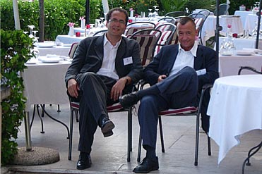 Président (Pr Sabaté) et co-président (Dr Piche) du conseil scientifique de l' APSSII (association des patients souffrant du syndrome de l'intestin irritable) lors de la réunion de Nice